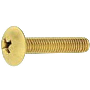 Phillips Truss Head Screw, Brass, Pack Product