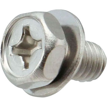 Stainless Steel Phillips Socket Head Cap Screw, P=1 JIS W Built-in, Small Box