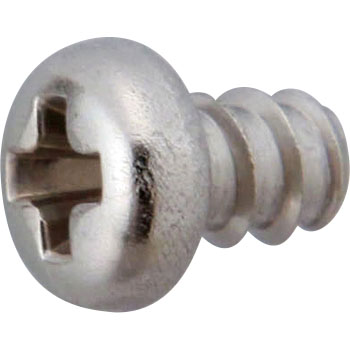 Phillips Pan Head Tapping Screw Without, B-0 Form, Stainless Steel, Pack Product
