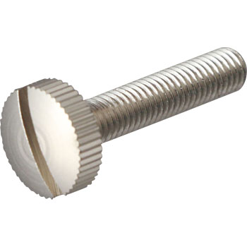 Knurled-Head Screw, Slotted