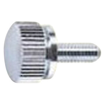 ECO-BS Knurled Screw, Brass, Low Cadmium Material, Chrome Plating, Pack Product