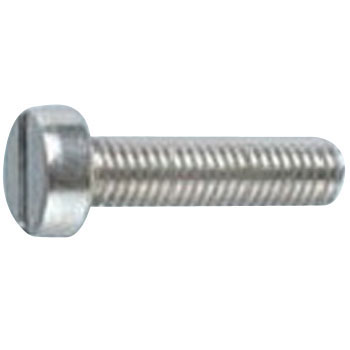 Cheese Head Screw, Small Flat-blade, Stainless Steel