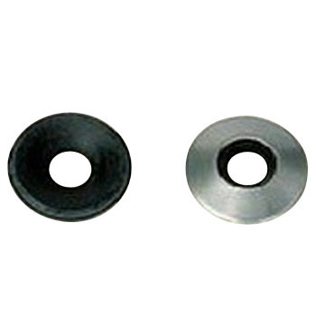 Bonded Washer, Rubber Black, Stainless Steel