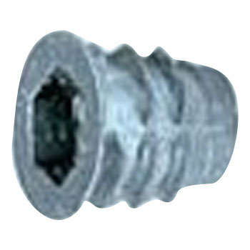 Insert Nut D Type, Iron, Trivalent White, Pack Product