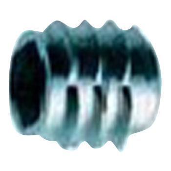 Insert Nut P Type, Iron, Trivalent White, Pack Product