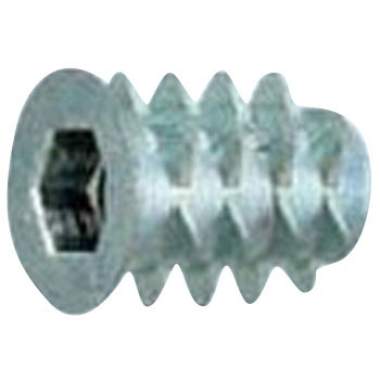 Insert Nut S Type, Iron, Trivalent White, Pack Product