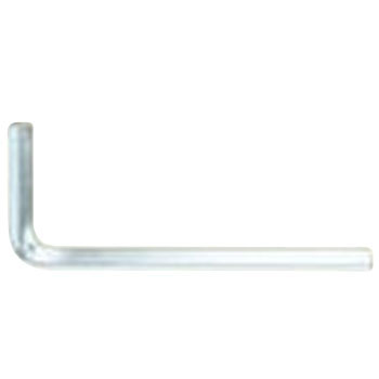 TRF Tamper Proof Screw, Hex Key L Wrench, Iron, Trivalent White