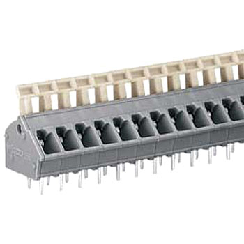 Spring type printed circuit board terminal block 256 series