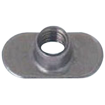 Weld Nut Tab Base Without Offset Hole, Type F, Iron