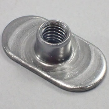 Weld Nut Tab Base with Offset Hole,Packed Product