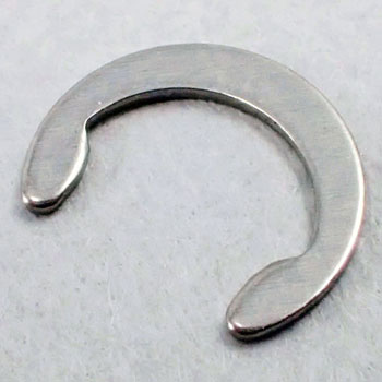C-Ring, Retaining Ring, Stainless Steel