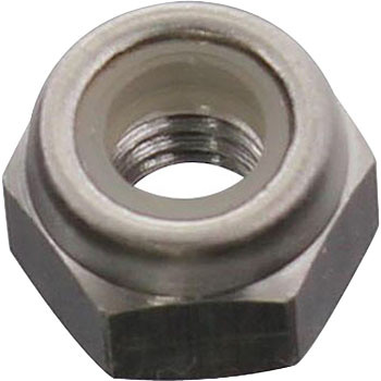 Nylon Lock Nut, Stainless Steel
