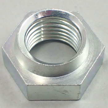 Hard Lock Nut Thin Trivalent Chromate Iron