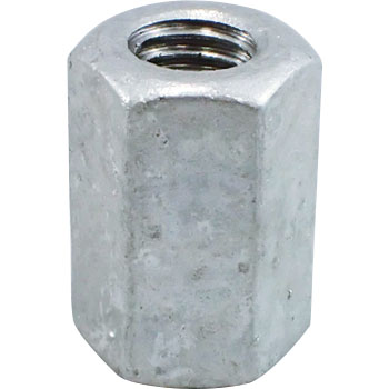 Coupling Nut, Iron, Hot Dip Galvanizing