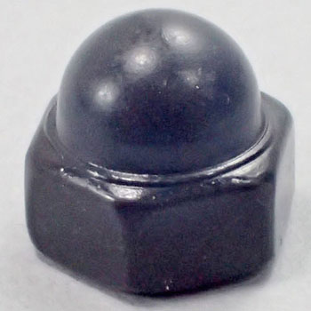 Cap Nut, Stainless Steel Black, Packed Product