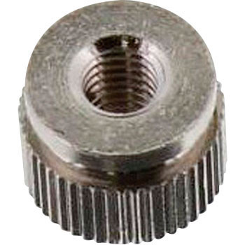 Knurled Nut, Brass, Low Cadmium Material, Nickel, Pack Product