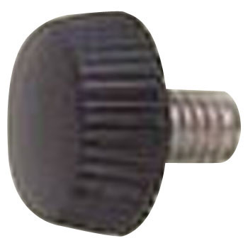 Black Head Decorative Screw No.3, Stainless Steel, Pack Product