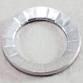 Conical Spring Washer For Cap, Light Load, Iron Trivalent White, Pack Product