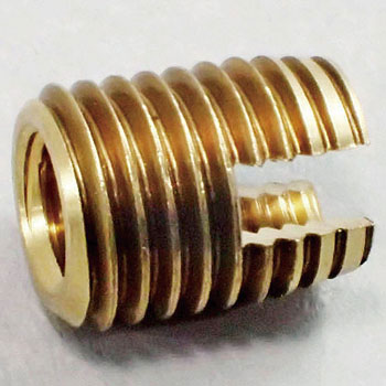 Threaded Insert SCT, RoHS Compliant Products, Brass