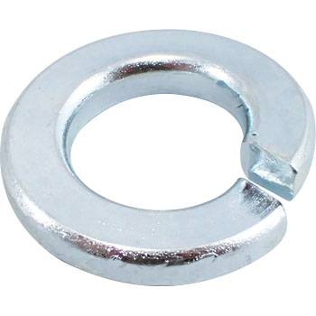Spring Washer, Iron, Uni Chromate, Heavy Duty
