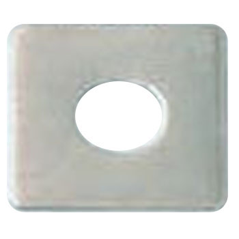 Square Washer, Stainless Steel, Large