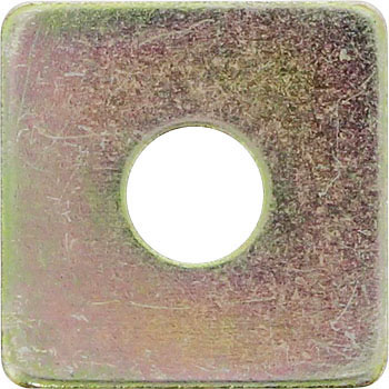 Square Washer, Iron, Chromate, Pack Product