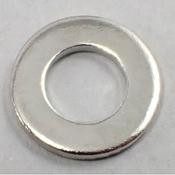 Round washer ISO (brass / nickel)