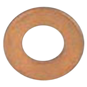 ISO Round Washer, Small, Brass