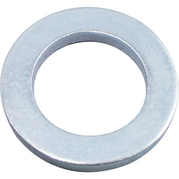 Round Washer, Small, Iron, Uni Chromate