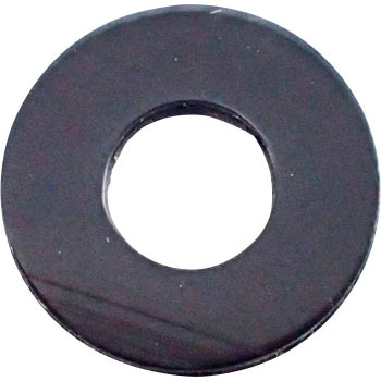 Nylon Round Washer, Nylon, Black, Pack Product