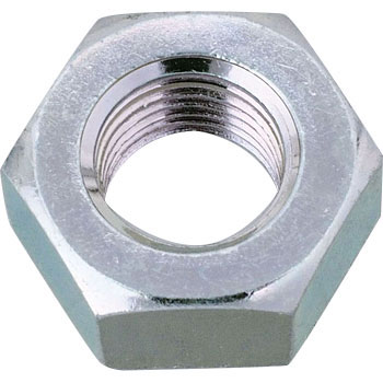Hex Nut, Iron, Trivalent White