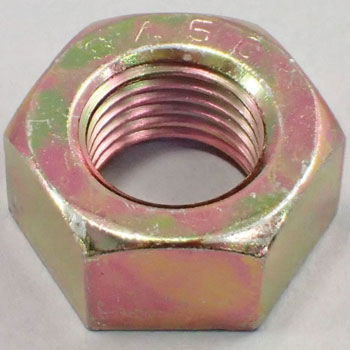 Hex Nut Fine Pitch, S45C H, Chromate, Pack Product
