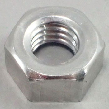 Hex Nut, Aluminum, Pack Product