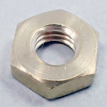 Hex Nut, Cutting, Brass, Low Cadmium Material