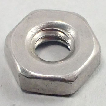 Hex Nut Unified, UNF, Coat, Stainless Steel, Packed