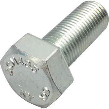 Strength class 10.9 hexagon bolt subdivision (iron / trivalent White)
