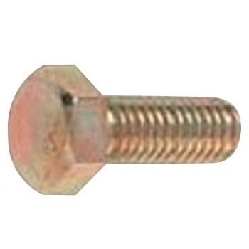 Hex Head Screw, Unified, Coarse Thread G-5, Iron, Trivalent White, Packed