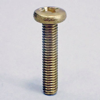 (+) Bind small screw (brass / cloth) (pack product)