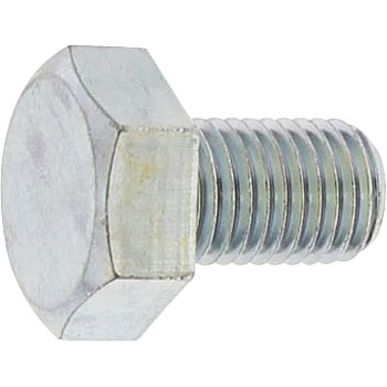 Hex Head Bolt Trivalent Chromate White