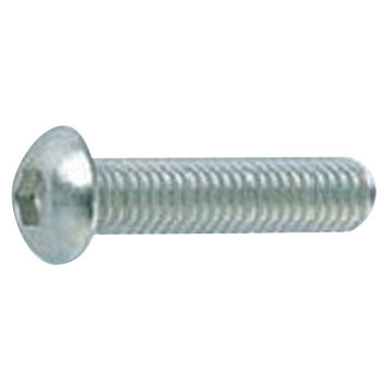 Hex Socket Button Head Screw, Button Cap Screw, JIS-B1174, Stainless Steel, Packed