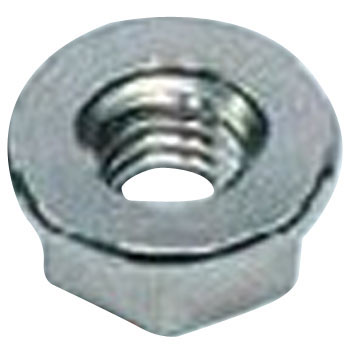 Mu flange nut Serrate (iron / chromate) (small box)