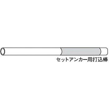 Anchor Striking Rod, Iron