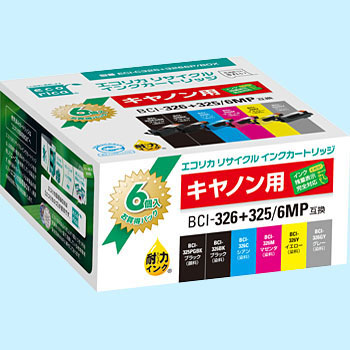 Recycling Ink, Canon Corresponded, BCI-326+325/6MP Type 6 Pack