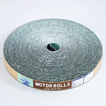 Abrasive Cloth Motor Roll 25mm, Plain Weave
