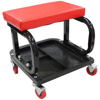 Iron Frame Work Chair, Resin Tray