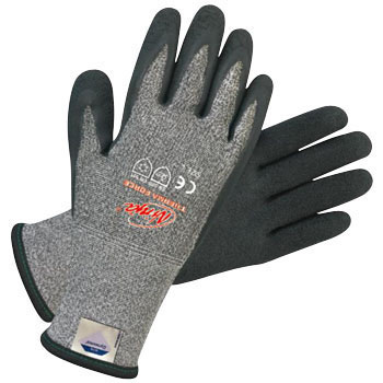 Cut and Sting Resistance Gloves, Ninja, Therma Force