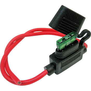 Flat Type Fuse Holder, Water Proof