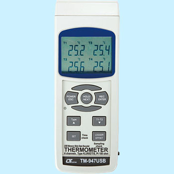 4chUSB Data Recorder Thermometer