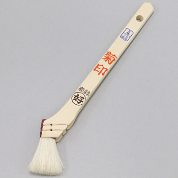 White Varnish Paintbrush