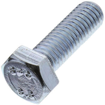 Hex Head Bolt, Uni Chromate, Full Threaded